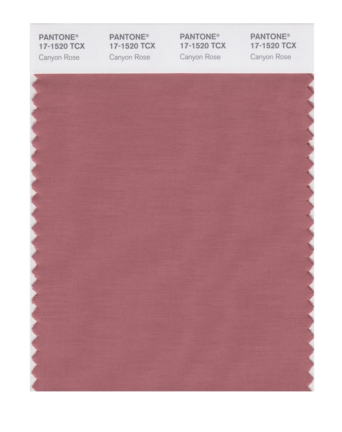 Pantone Smart Swatch 17-1520 Canyone Rose