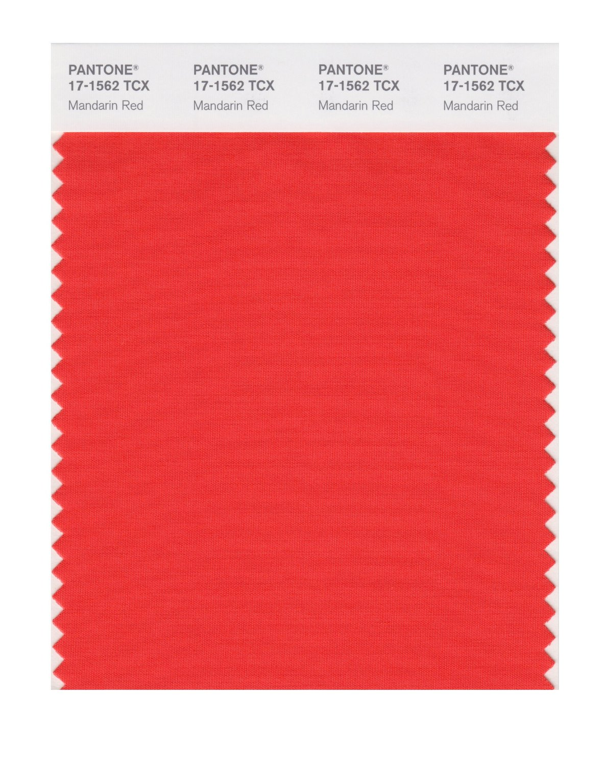 Pantone Smart Swatch 17-1562 Mandarin Red