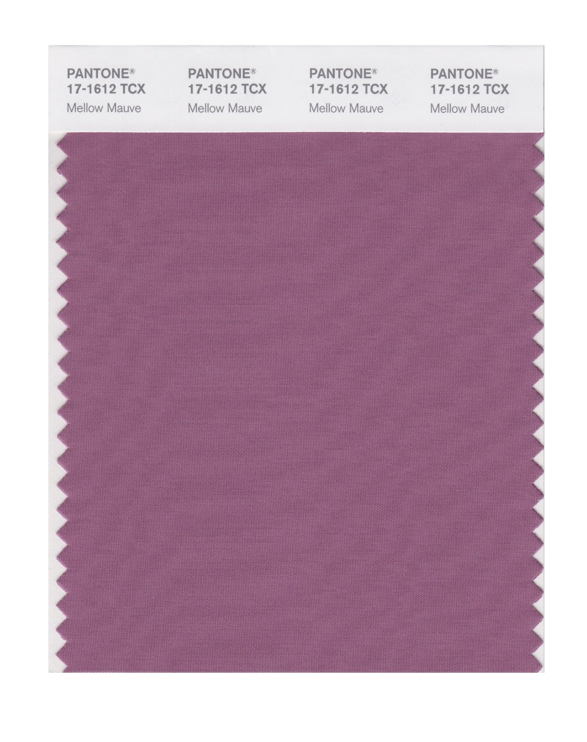 Pantone Smart Swatch 17-1612 Mellow Mauve