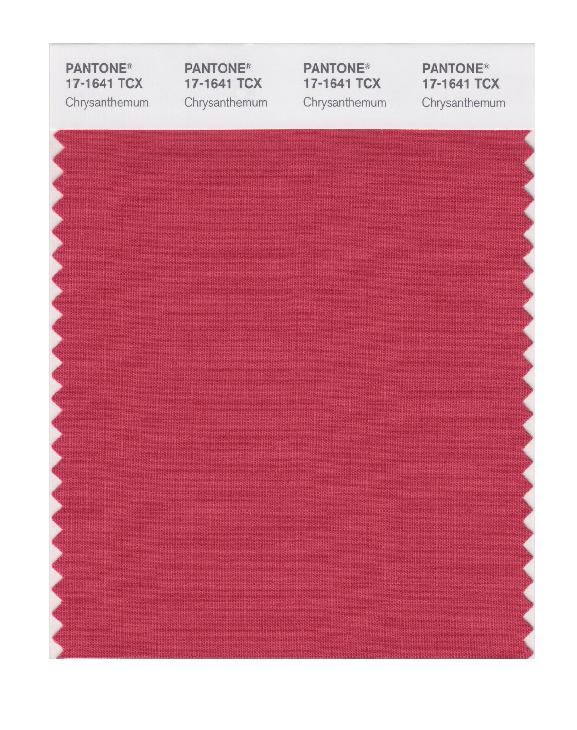 Pantone Smart Swatch 17-1641 Chrysanthemum
