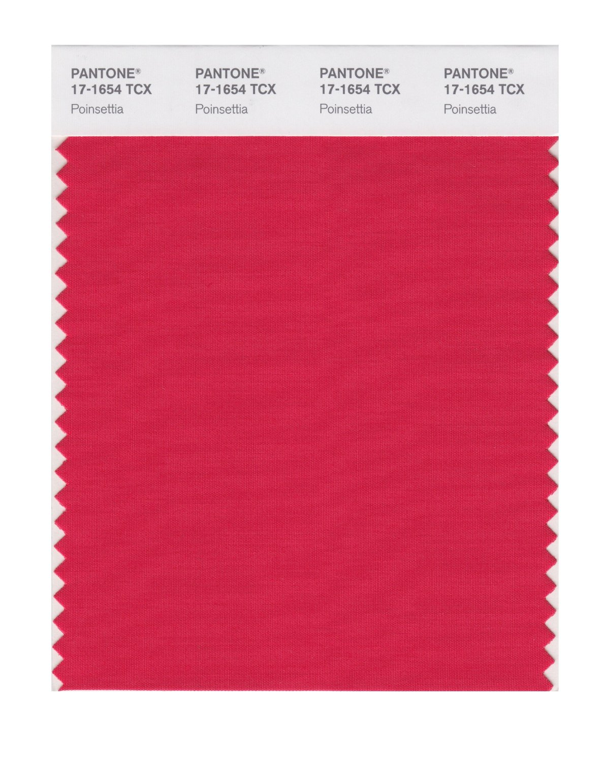 Pantone Smart Swatch 17-1654 Poinsettia