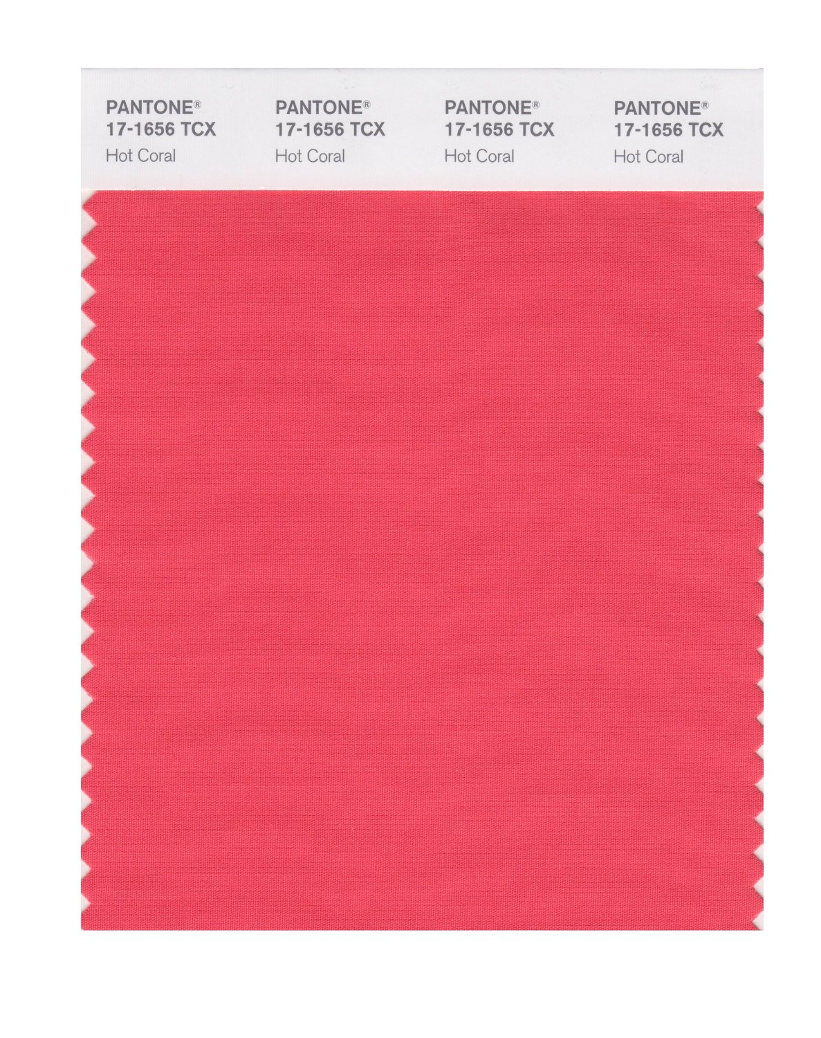 Pantone Smart Swatch 17-1656 Hot Coral