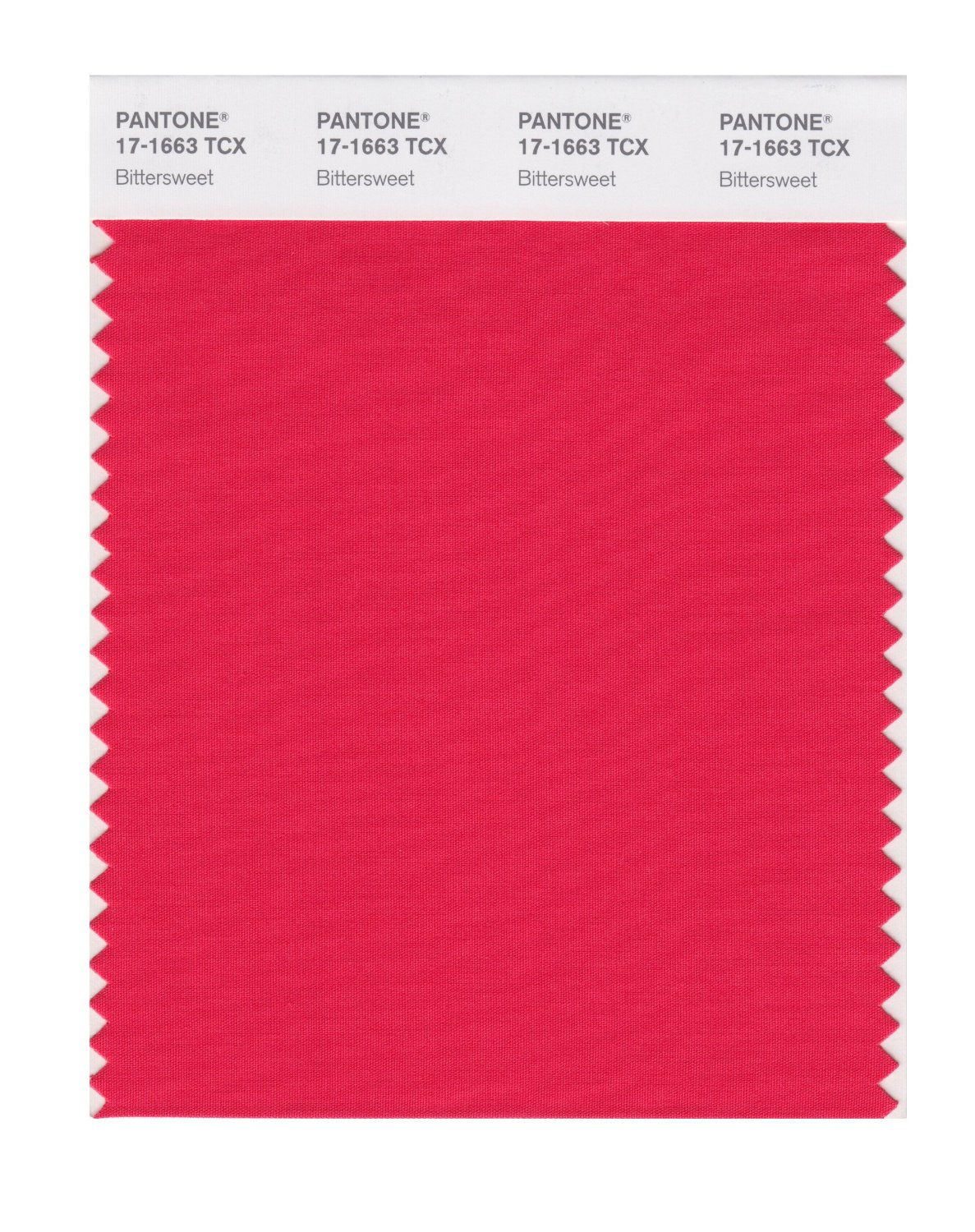 Pantone Smart Swatch 17-1663 Bittersweet