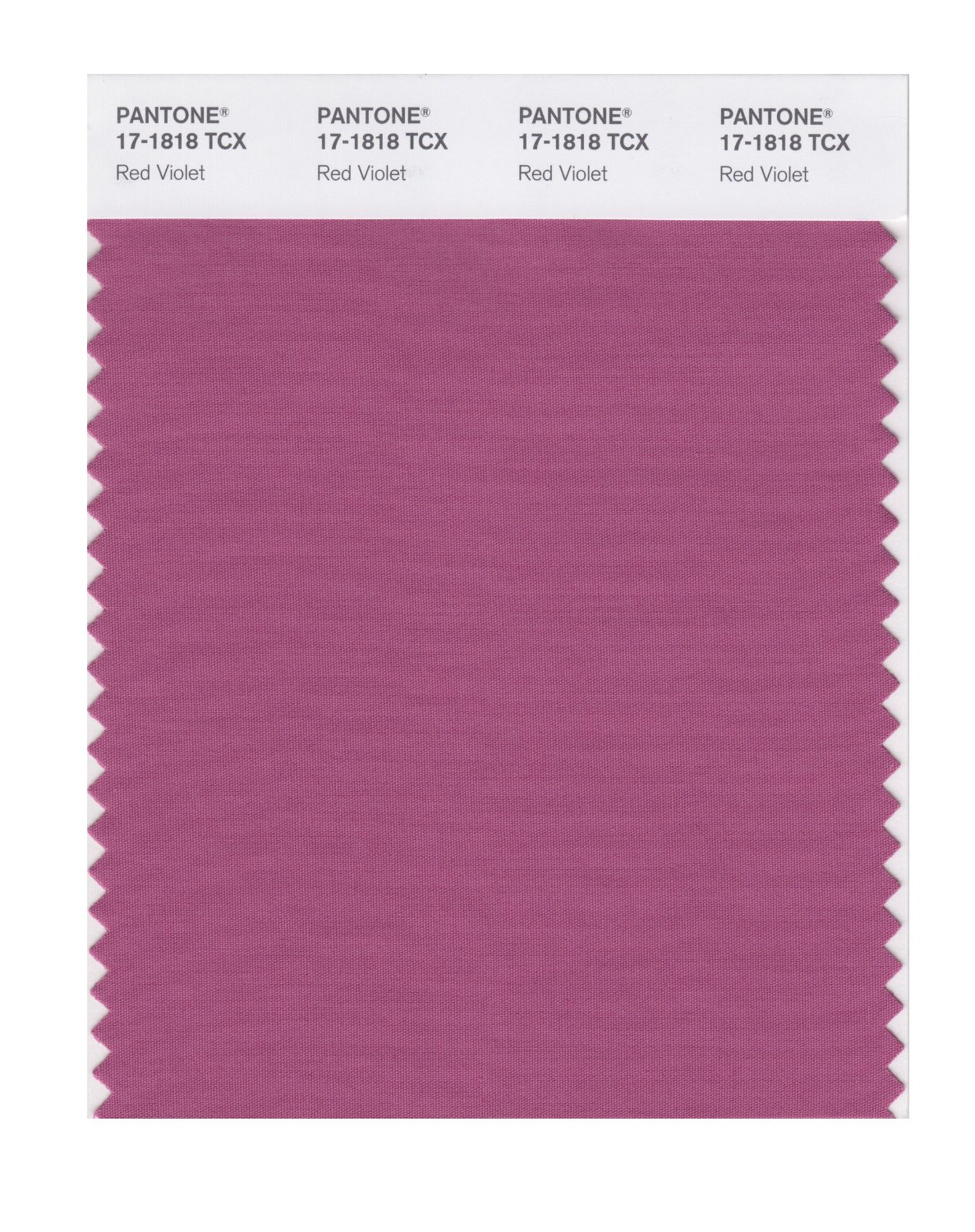Pantone Smart Swatch 17-1818 Red Violet