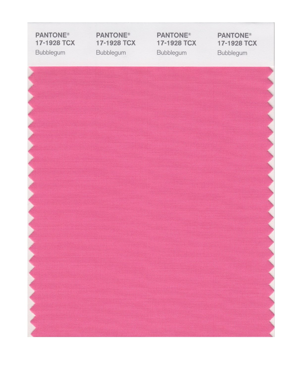 Pantone Smart Swatch 17-1928 Bubblegum