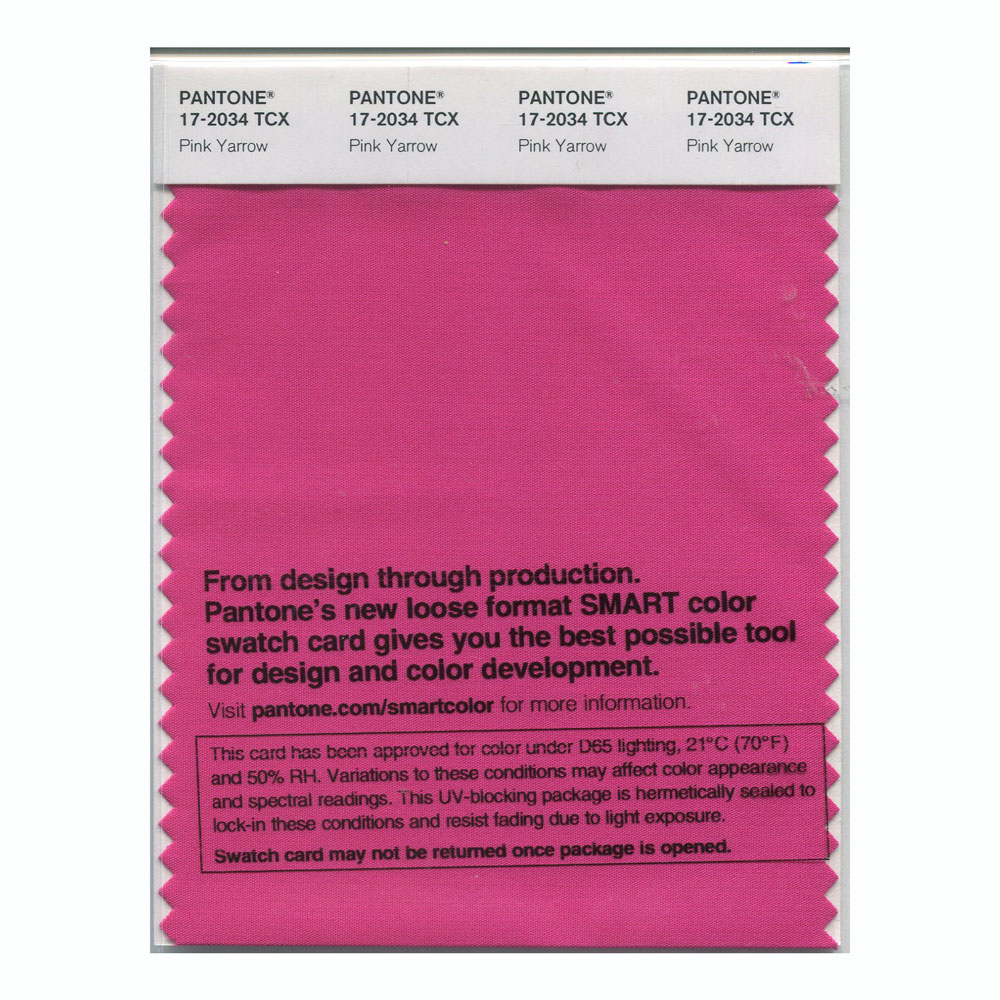 Pantone Smart Swatch 17-2034 Pink Yarrow