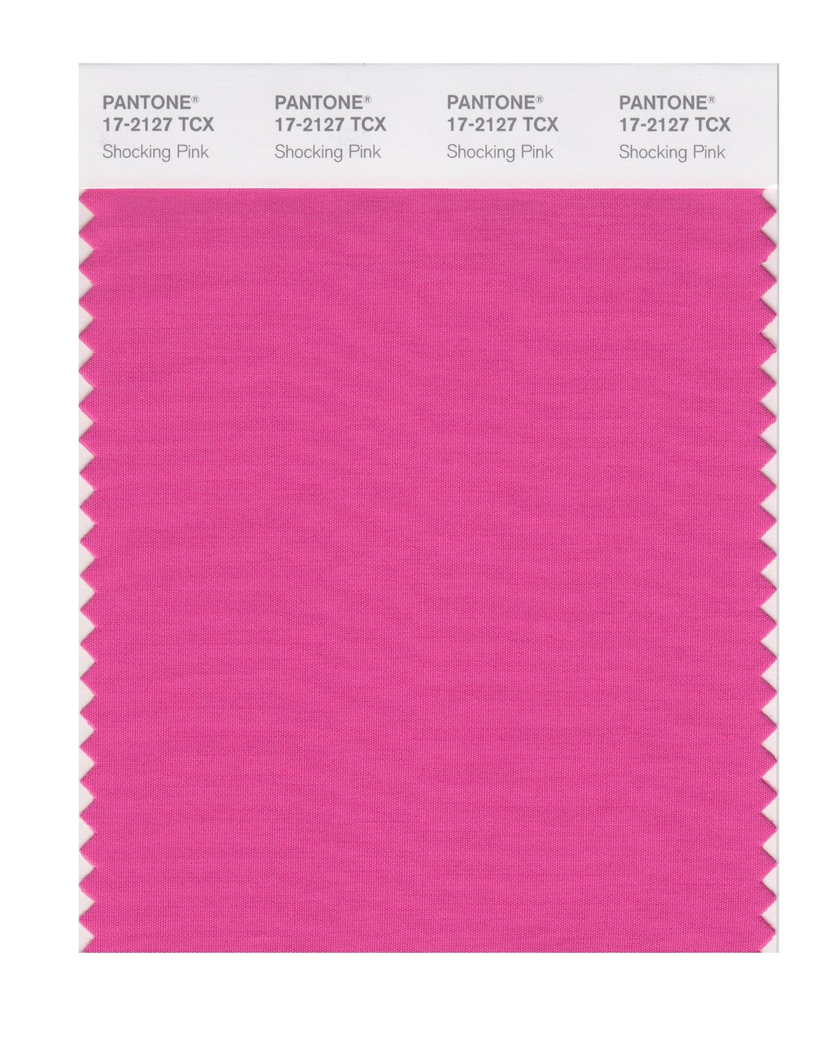 Pantone Smart Swatch 17-2127 Shocking Pink