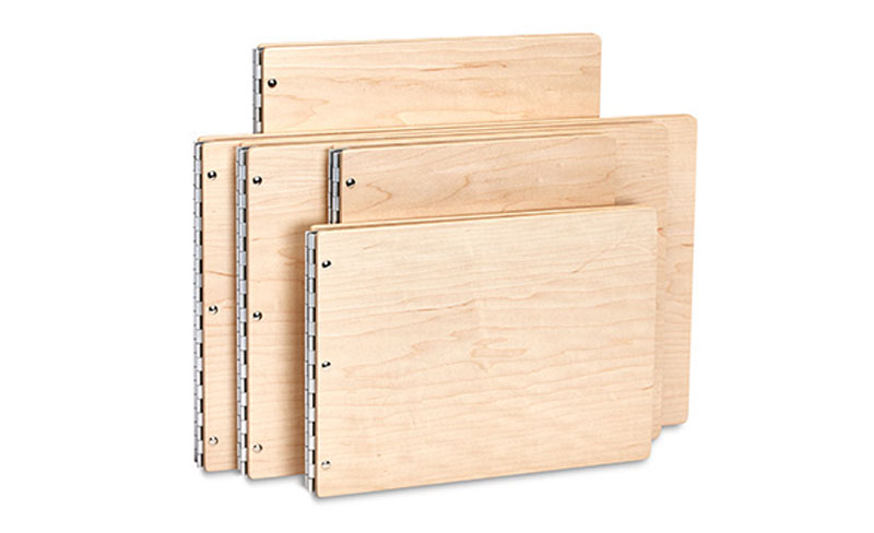 Pina Zangaro Maple Screwpost Binders