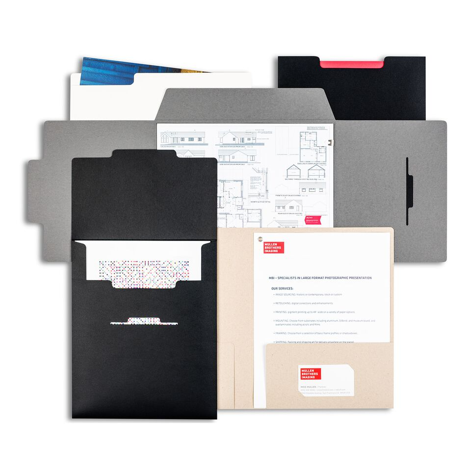 Pina Zangaro Folders and Sleeves