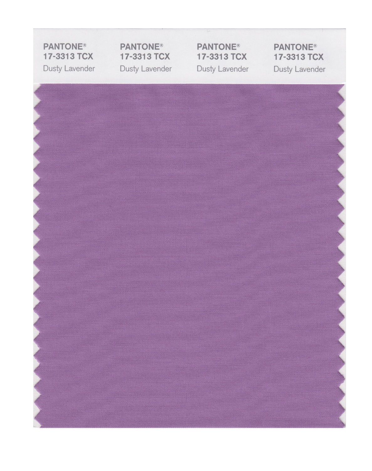 Pantone Smart Swatch 17-3313 Dusty Lavendar