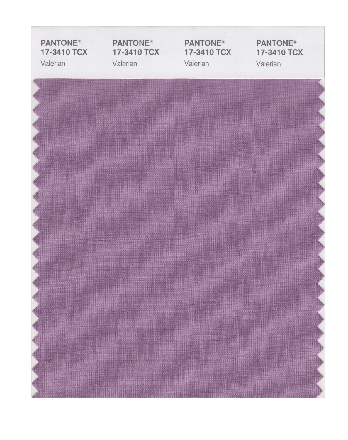 Pantone Smart Swatch 17-3410 Valerian