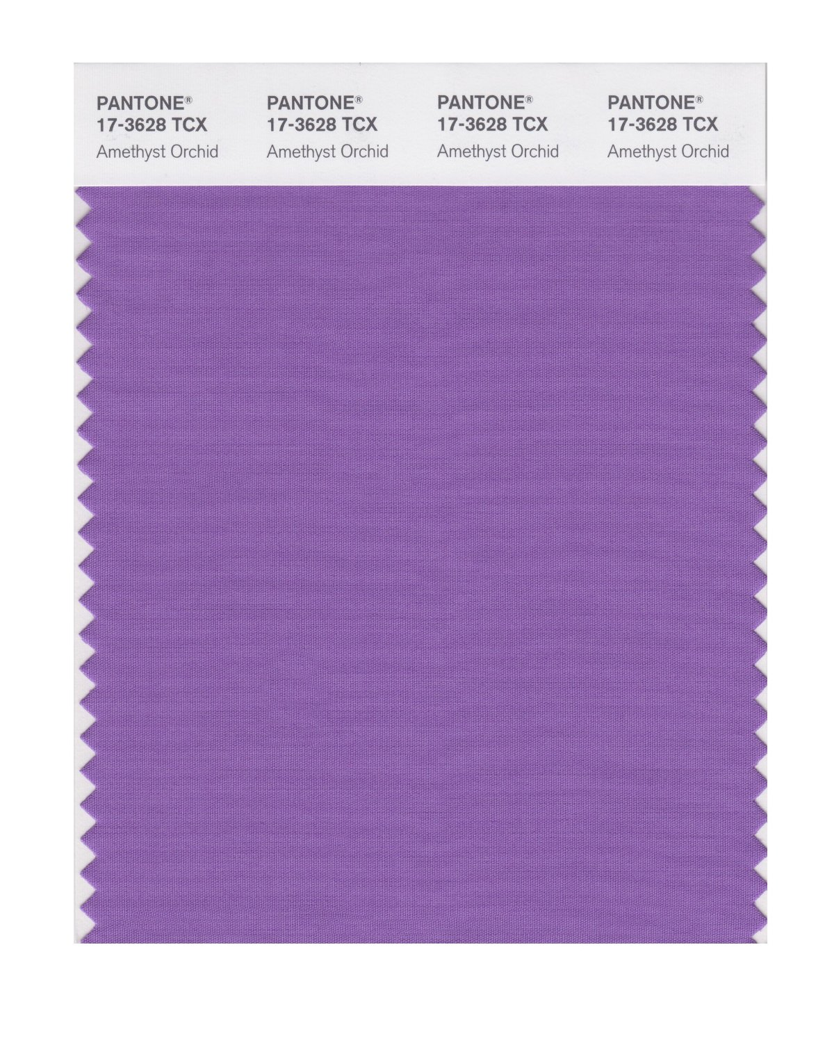 Pantone Smart Swatch 17-3628 Amethyst Orchid