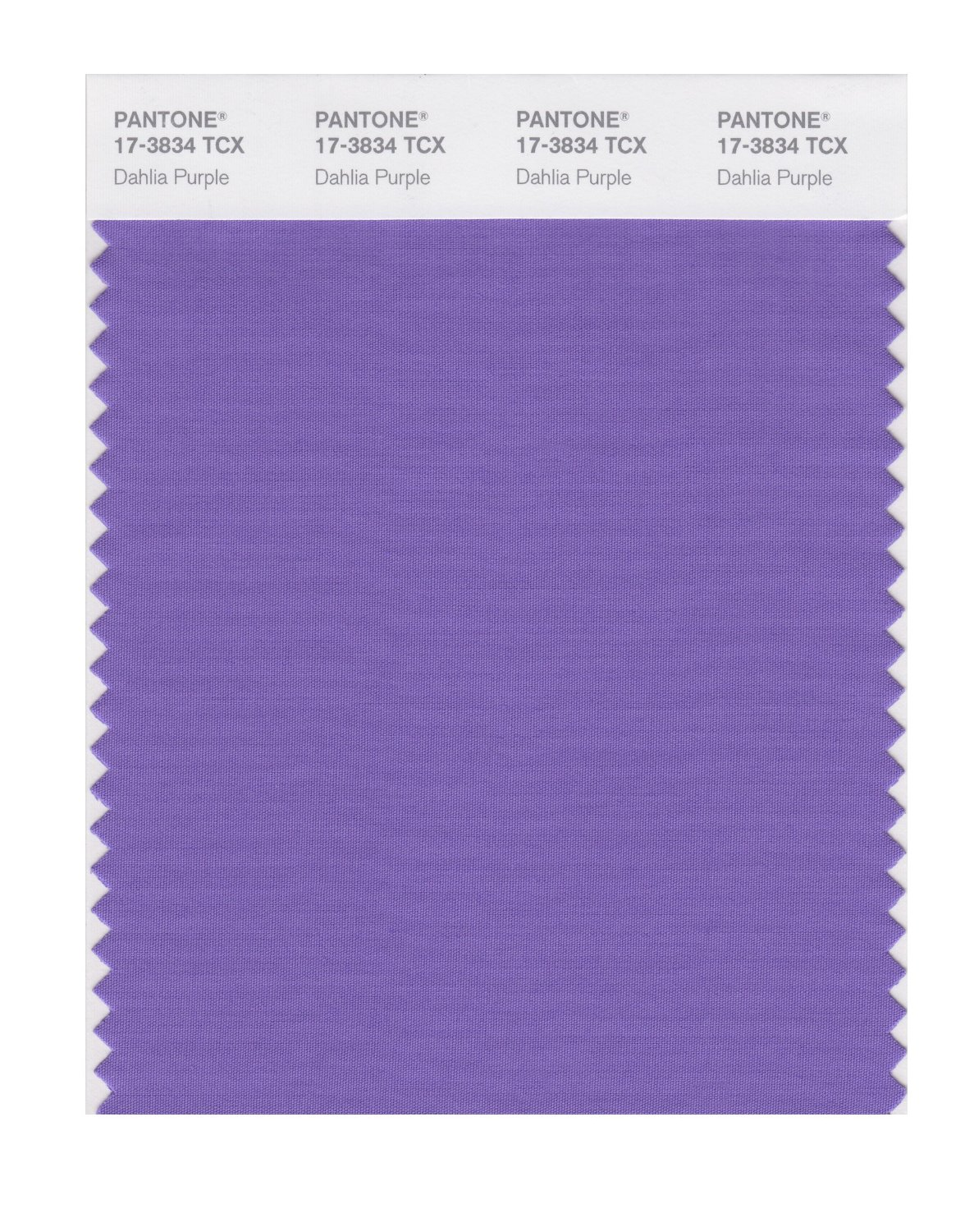 Pantone Smart Swatch 17-3834 Dahlia Purple