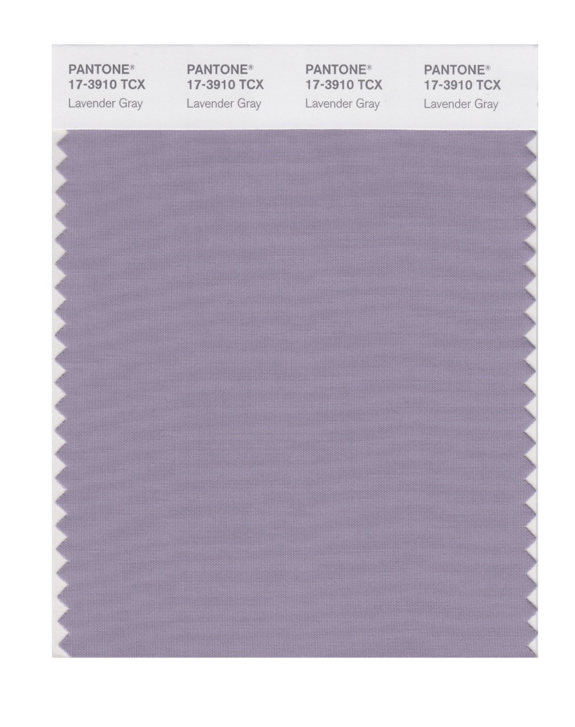 Pantone Smart Swatch 17-3910 Lavender Gray