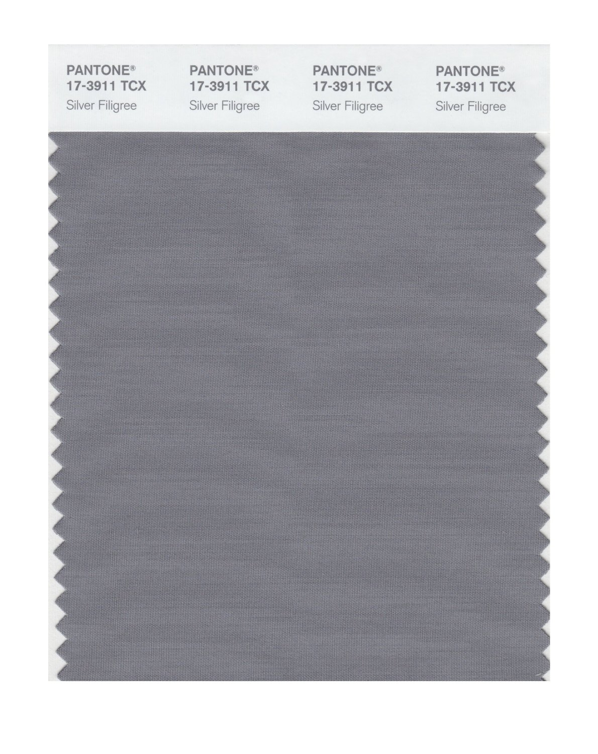 Pantone Smart Swatch 17-3911 Silver Filigree