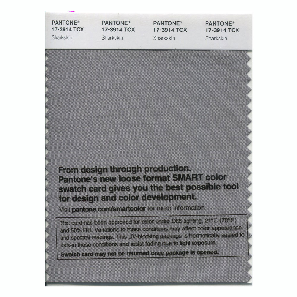 Pantone Smart Swatch 17-3914 Sharkskin
