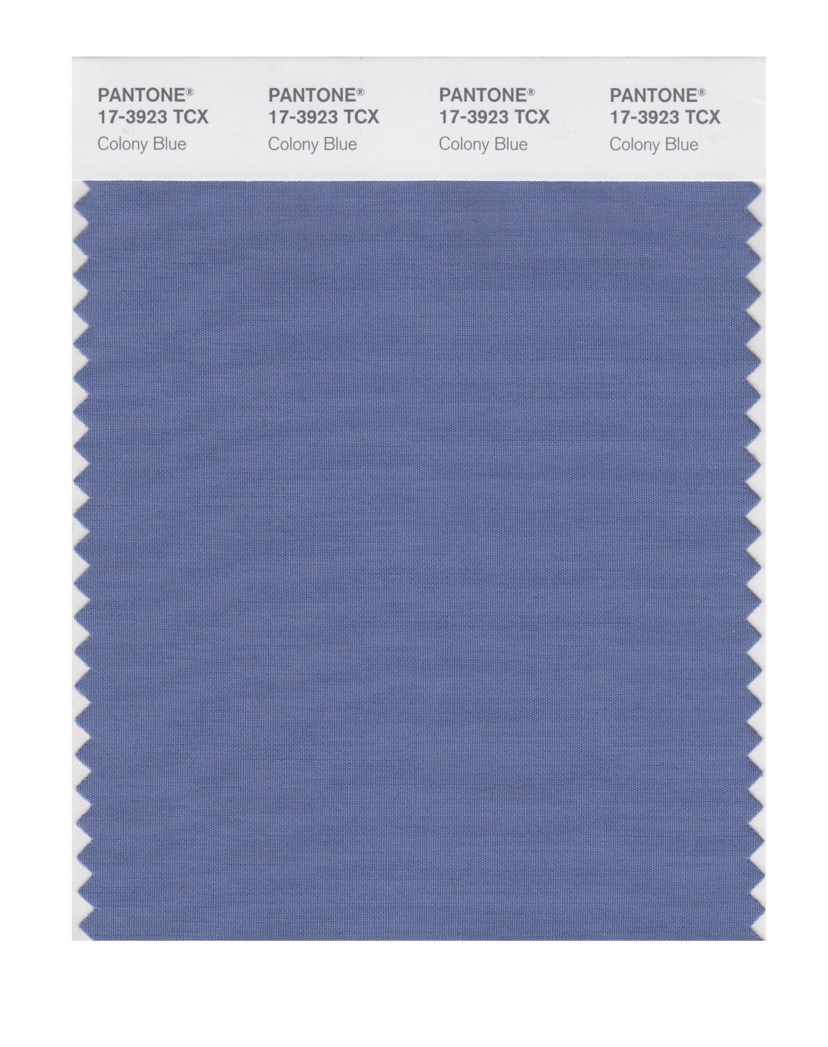 Pantone Smart Swatch 17-3923 Colony Blue
