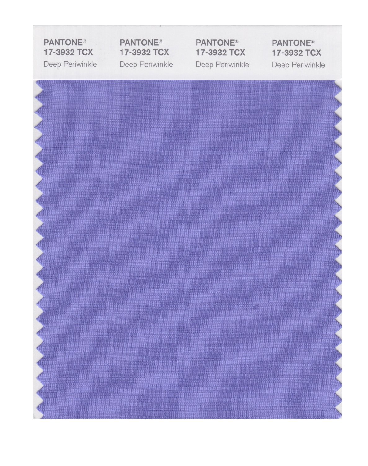 Pantone Smart Swatch 17-3932 Deep Periwinkle