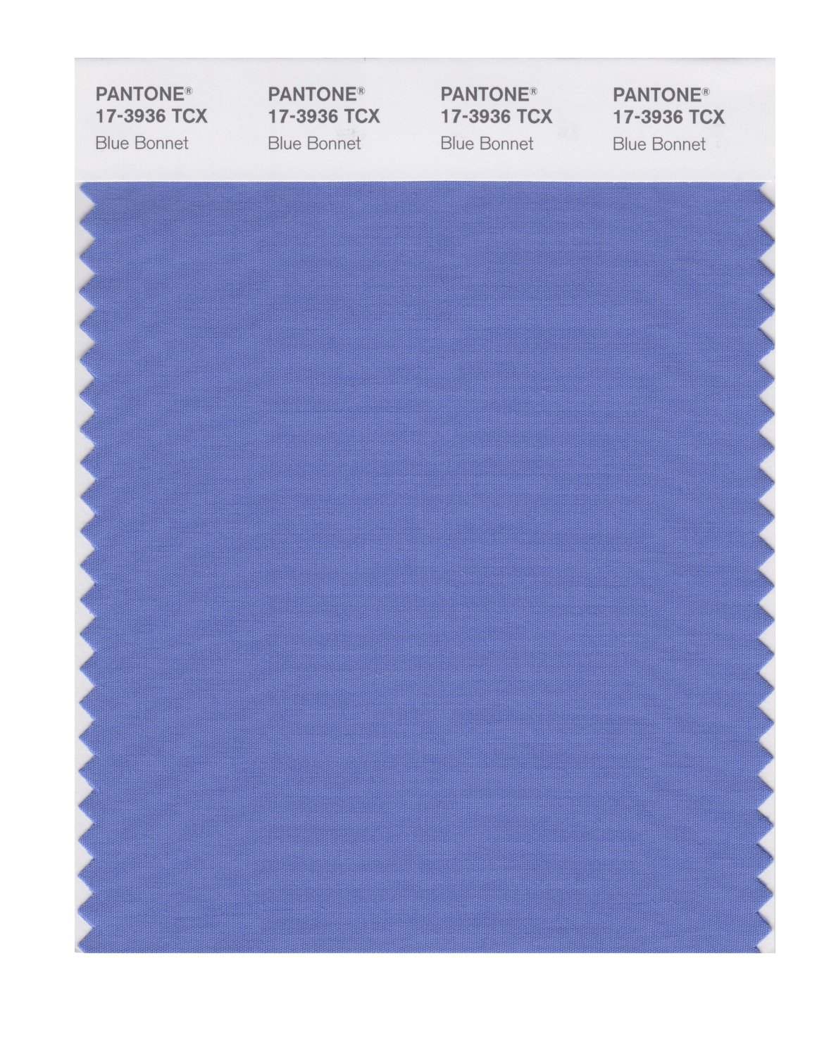 Pantone Smart Swatch 17-3936 Blue Bonnet