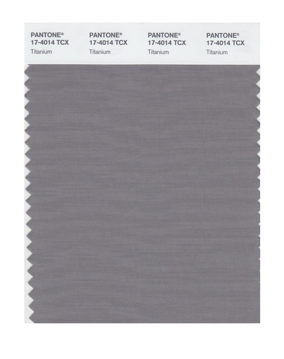 Pantone Smart Swatch 17-4014 Titanium