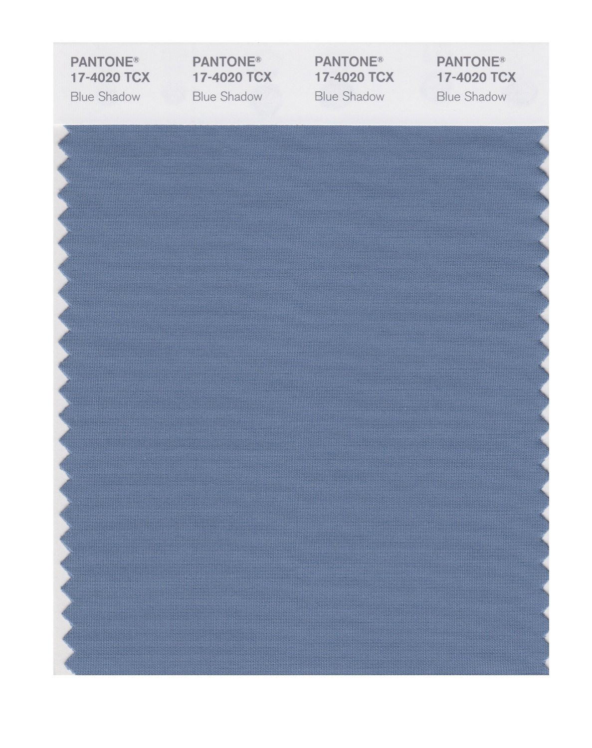Pantone Smart Swatch 17-4020 Blue Shadow