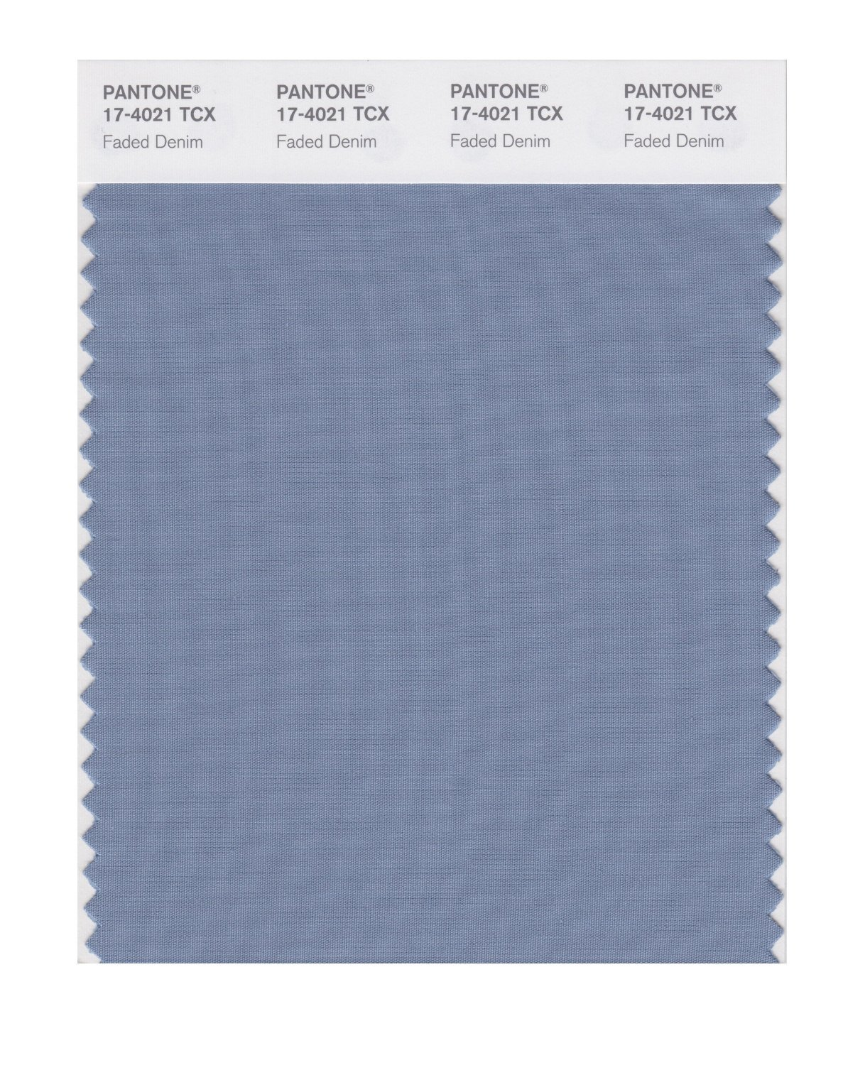 Pantone Smart Swatch 17-4021 Faded Denim