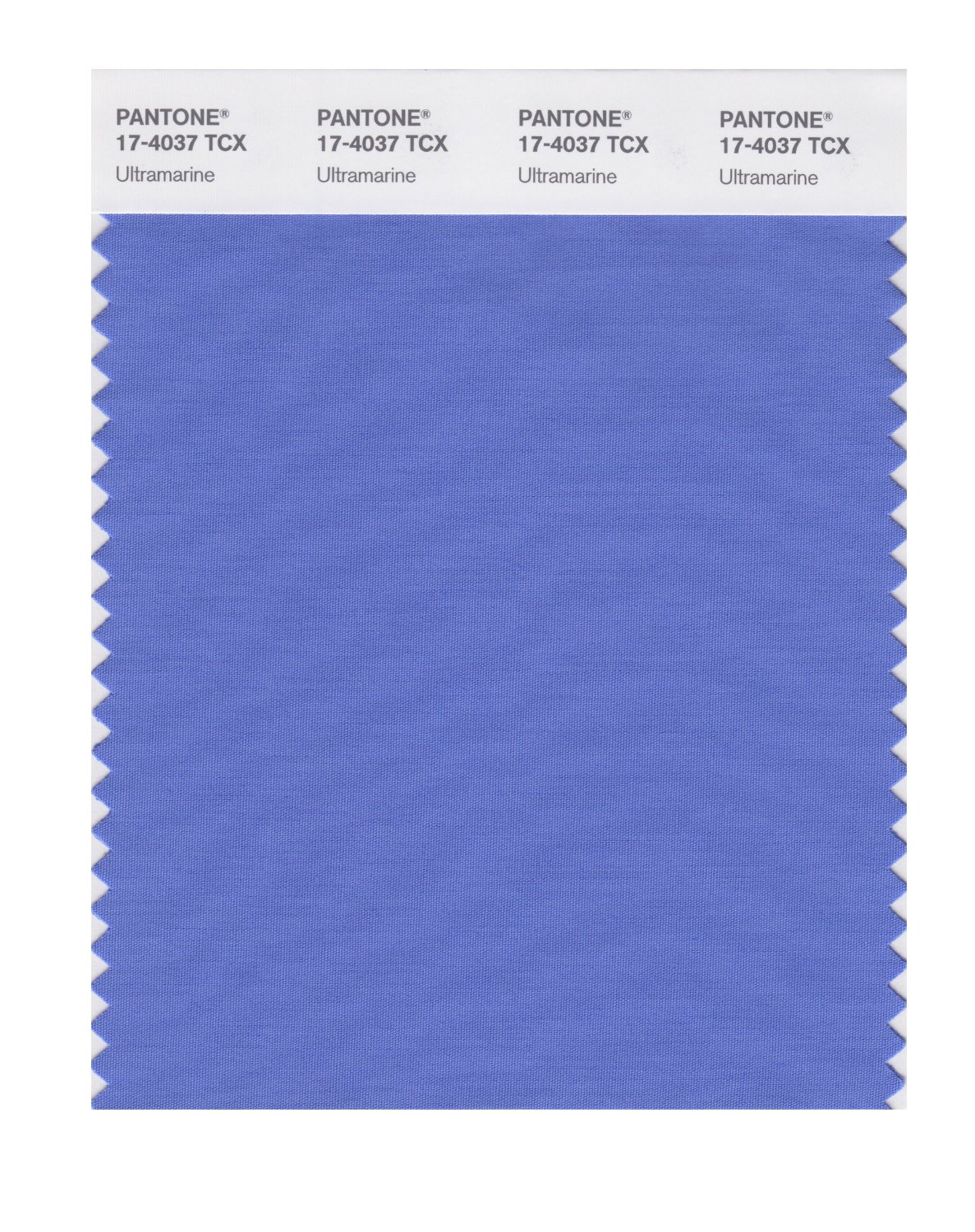 Pantone Smart Swatch 17-4037 Ultramarine