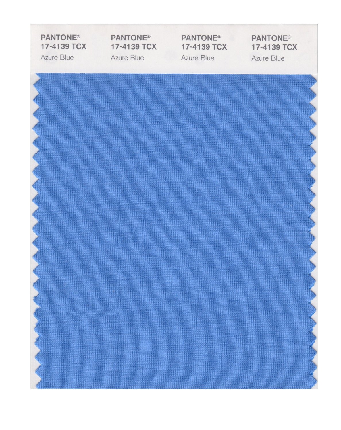 Pantone Smart Swatch 17-4139 Azure Blue