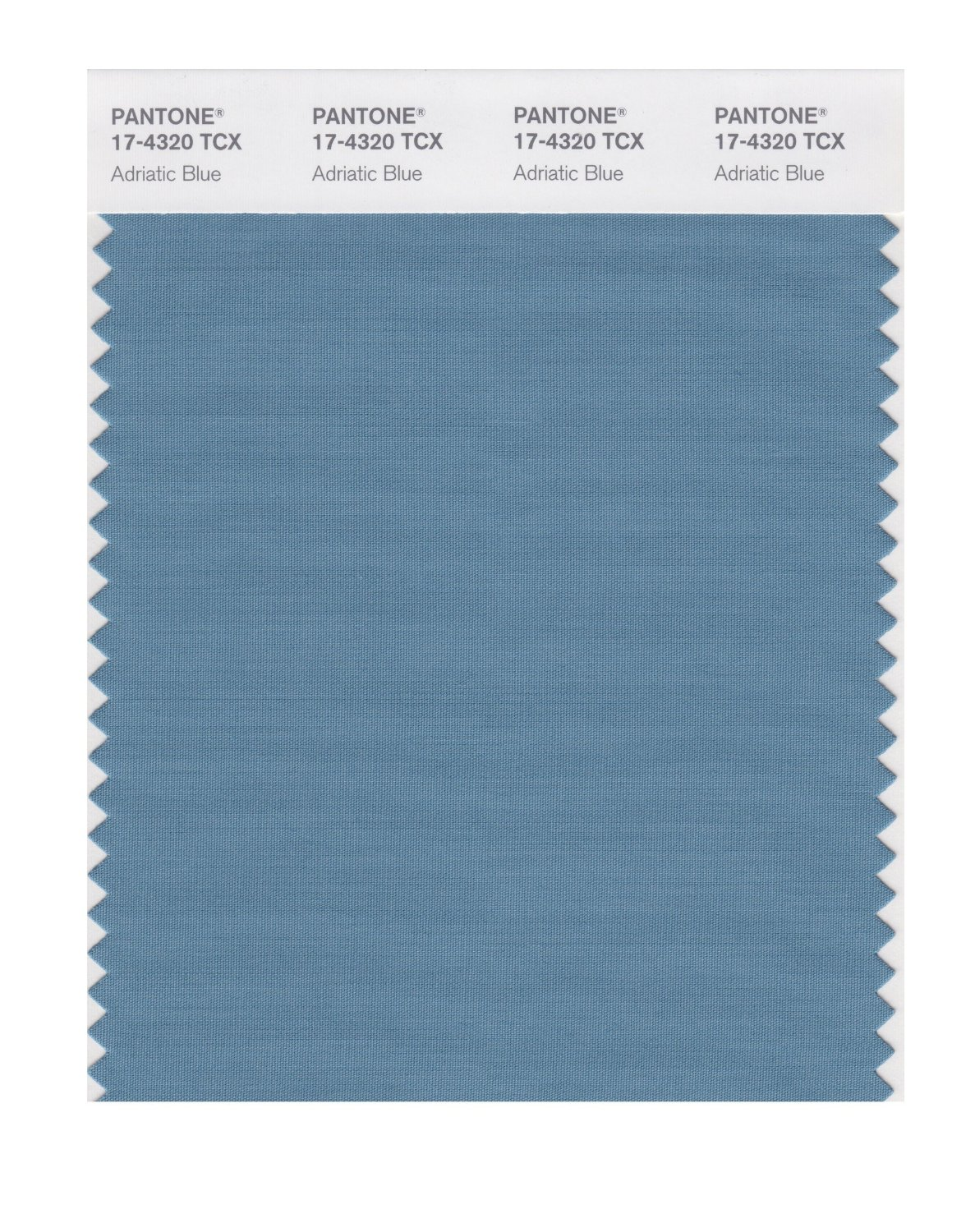 Pantone Smart Swatch 17-4320 Adriatic Blue