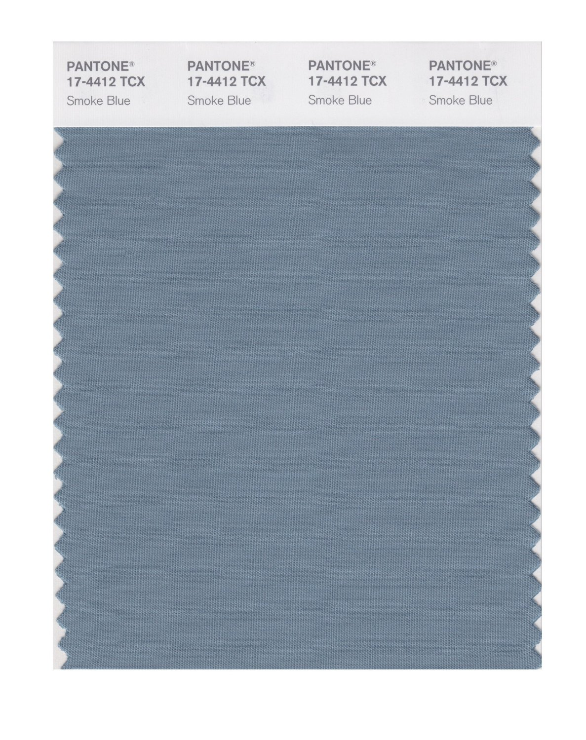 Pantone Smart Swatch 17-4412 Smoke Blue