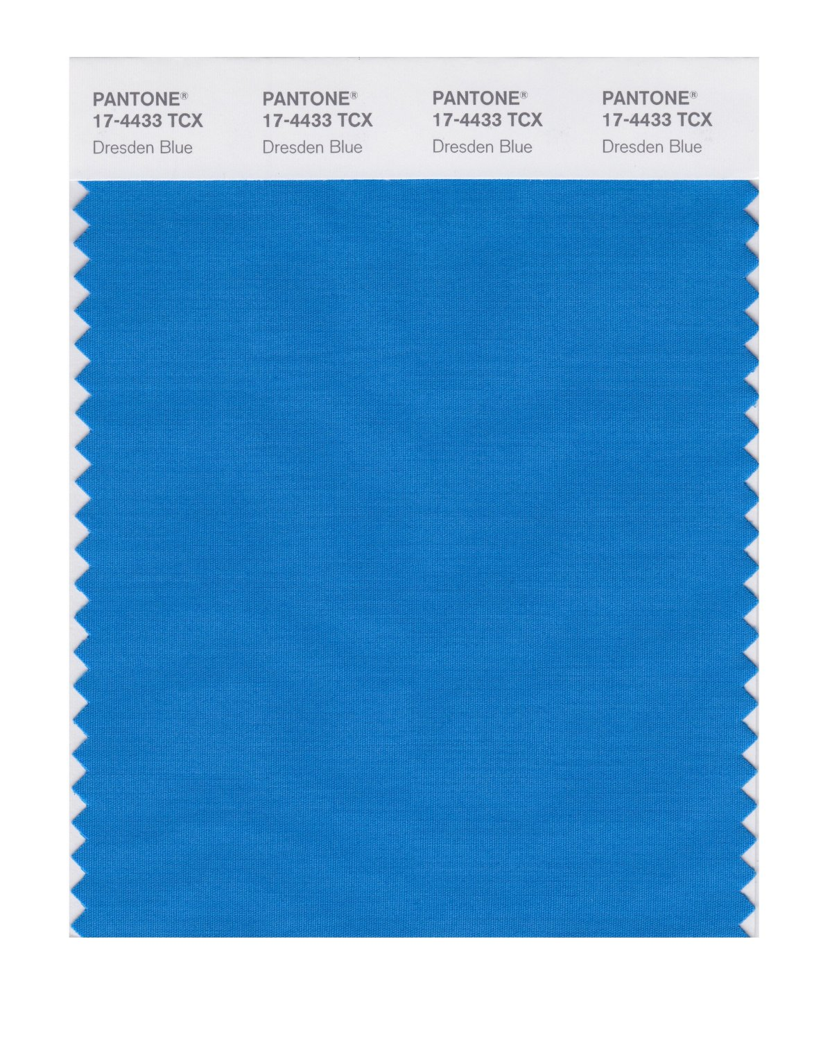 Pantone Smart Swatch 17-4433 Dresden Blue