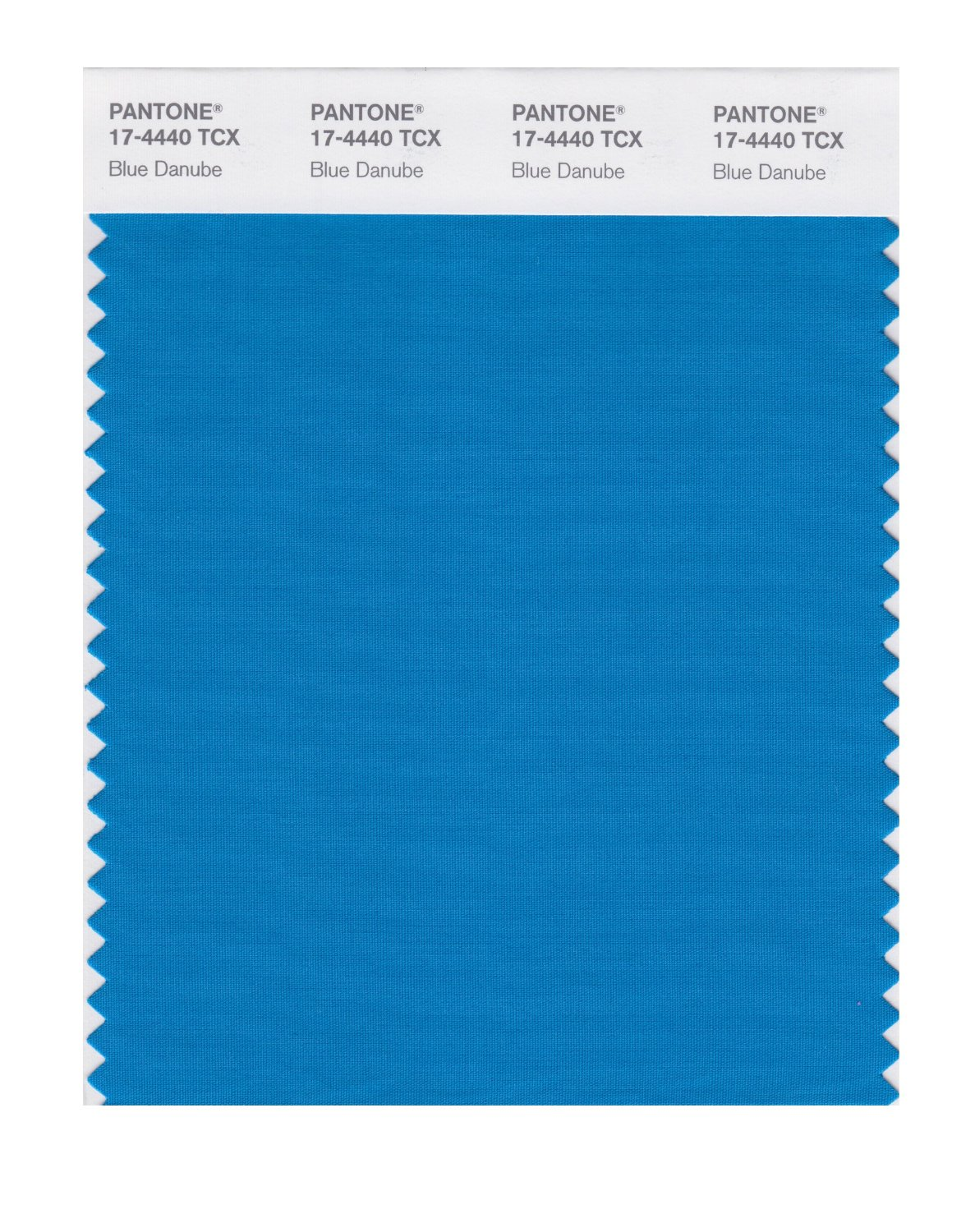 Pantone Smart Swatch 17-4440 Blue Danube