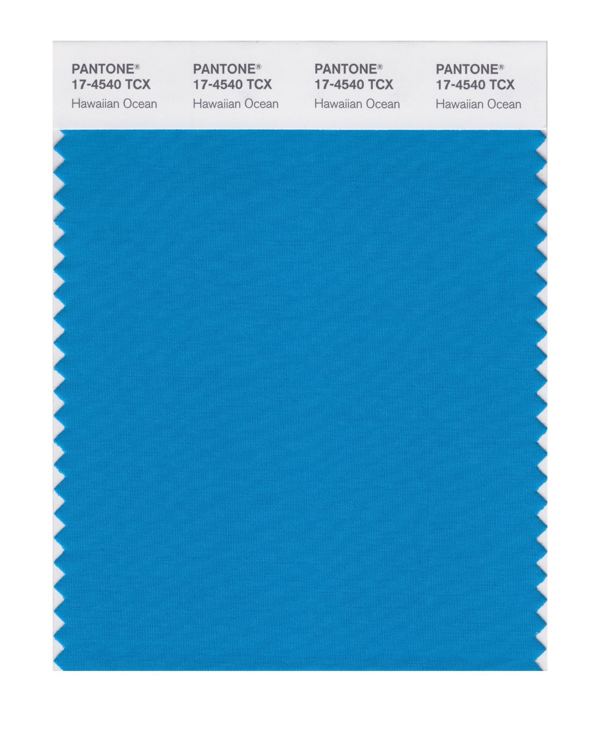 Pantone Smart Swatch 17-4540 Hawaiian Ocean