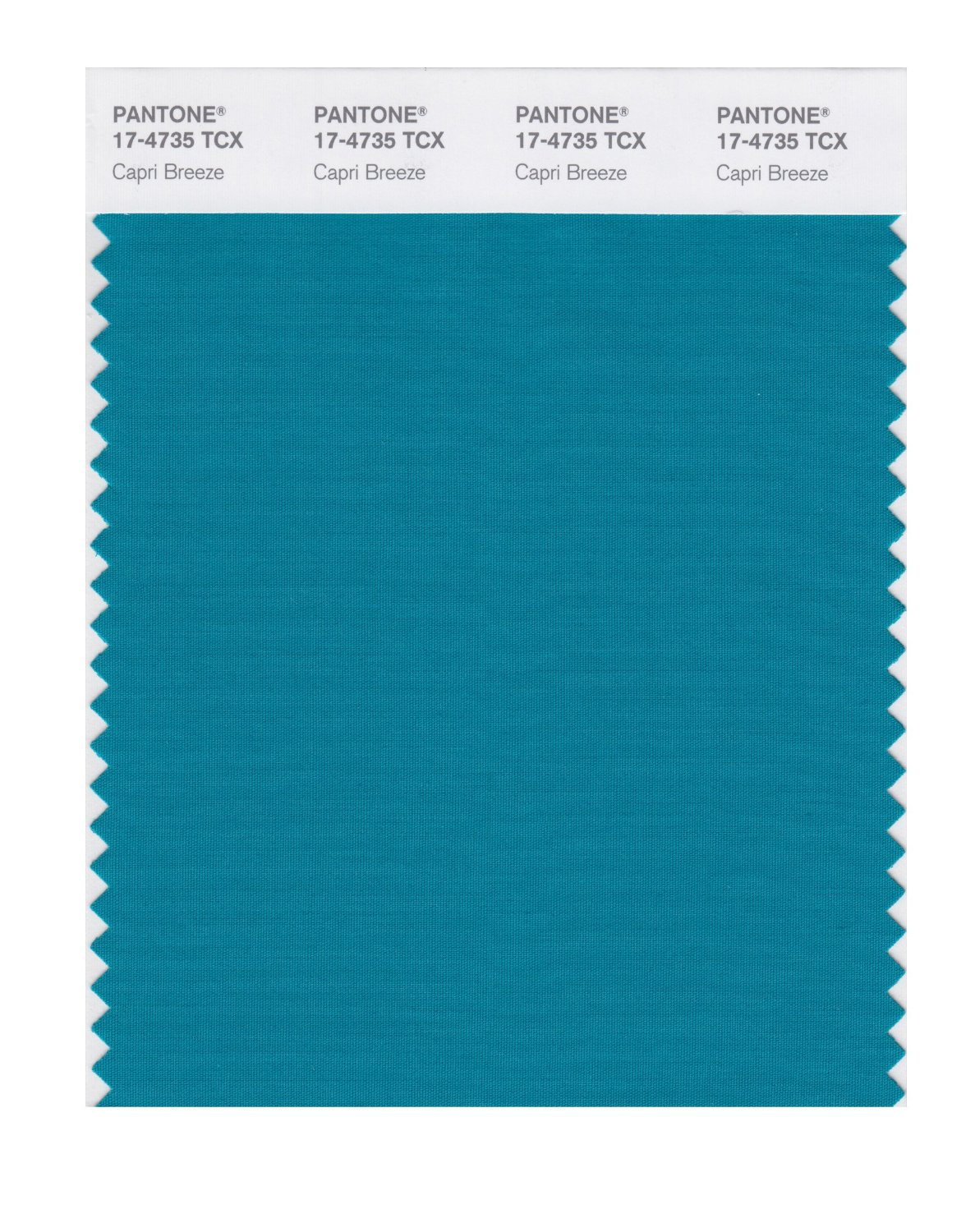 Pantone Smart Swatch 17-4735 Capri Breeze