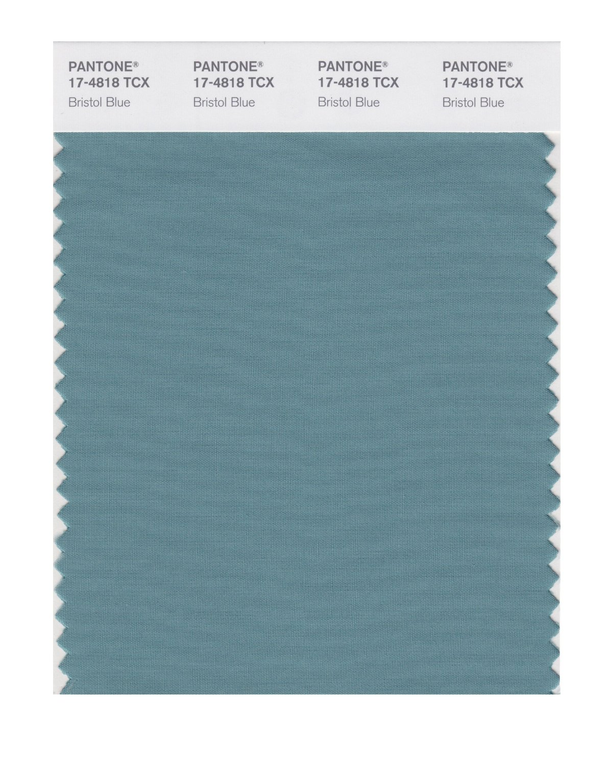 Pantone Smart Swatch 17-4818 Bristol Blue