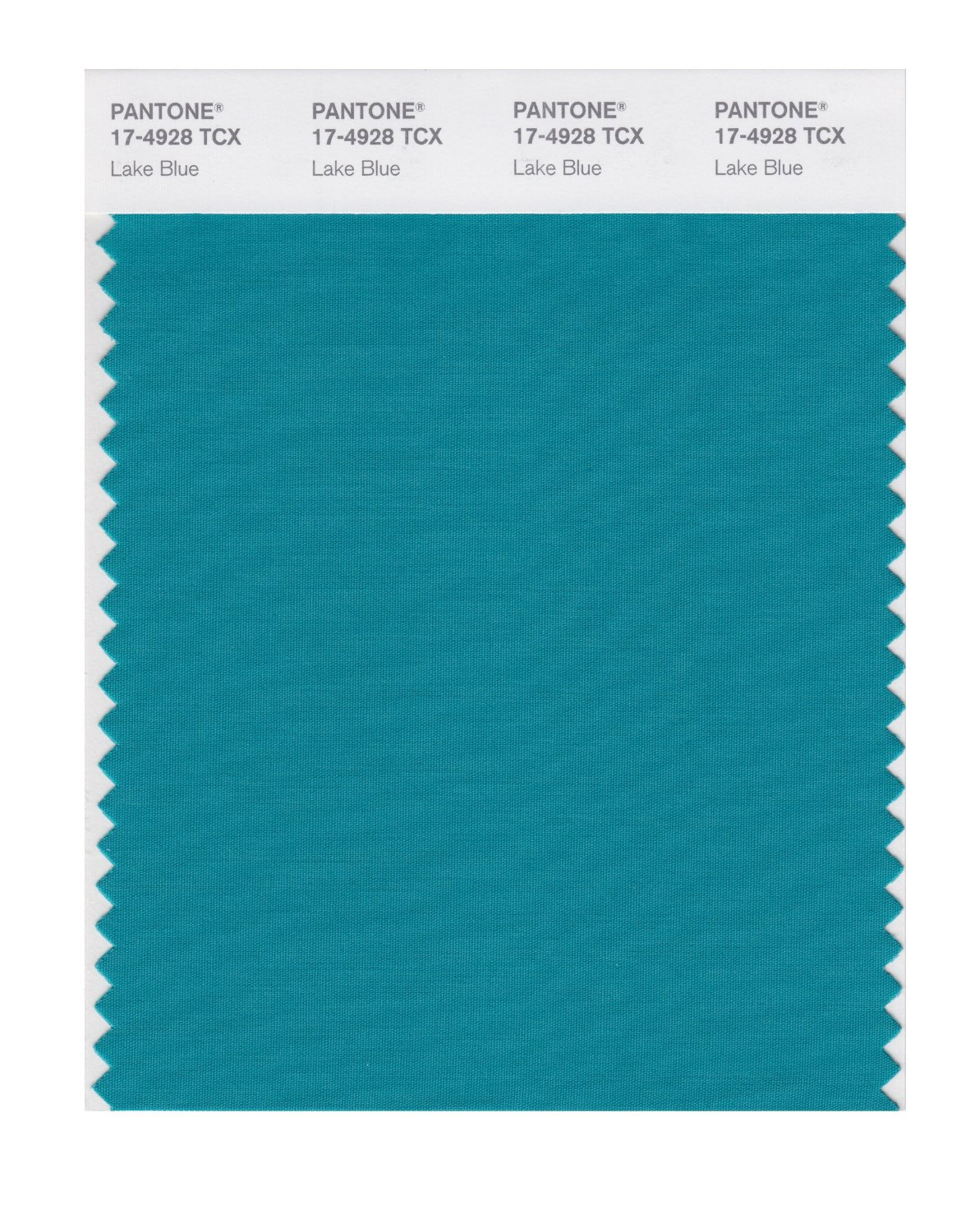 Pantone Smart Swatch 17-4928 Lake Blue