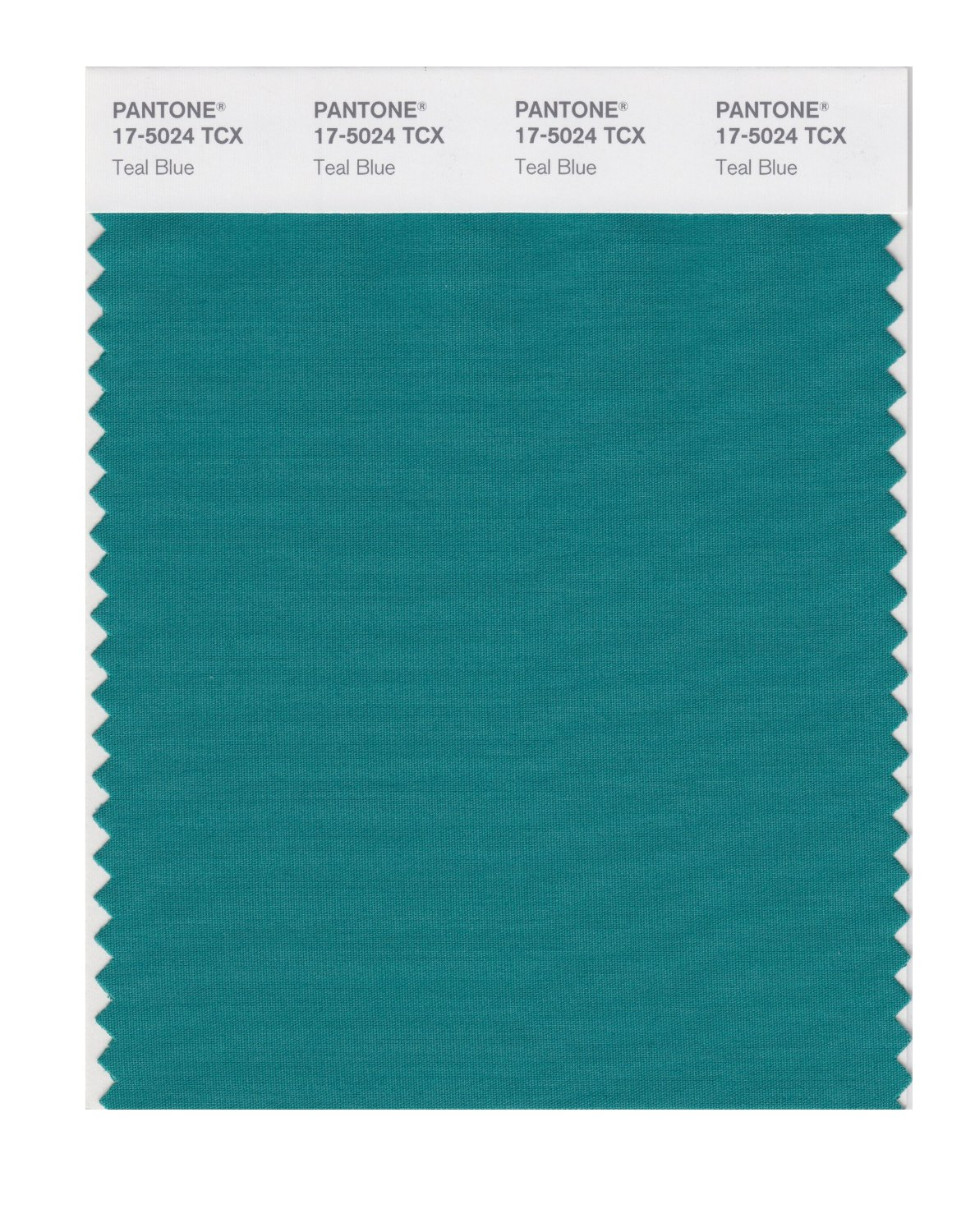 Pantone Smart Swatch 17-5024 Teal Blue