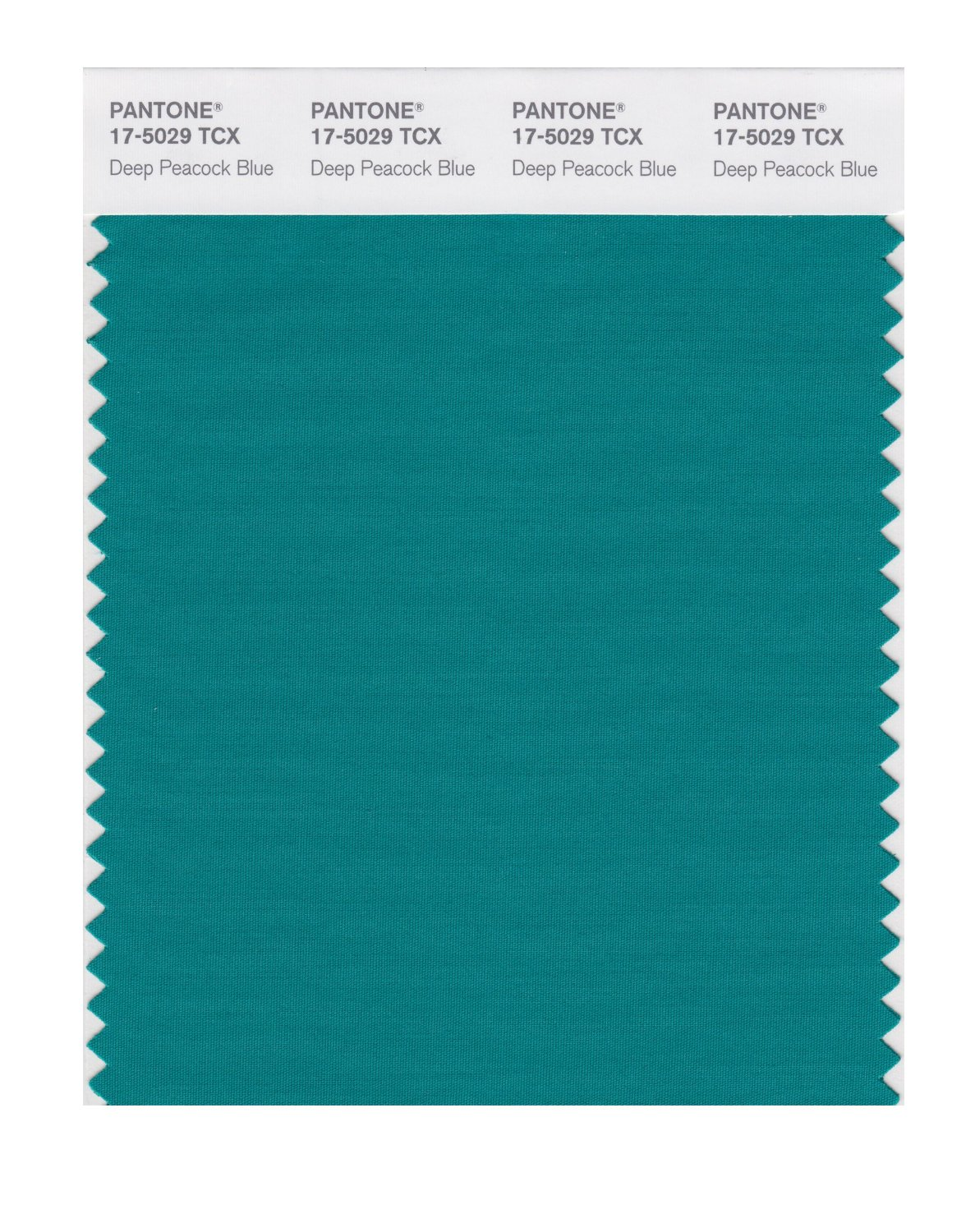 Pantone Smart Swatch 17-5029 Dp Peacock Blue