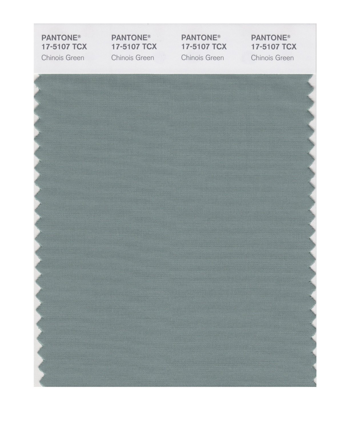 Pantone Smart Swatch 17-5107 Chinois Green