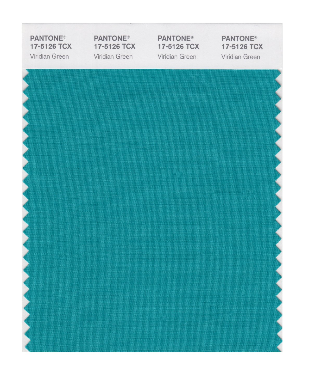 Pantone Smart Swatch 17-5126 Viridian Green