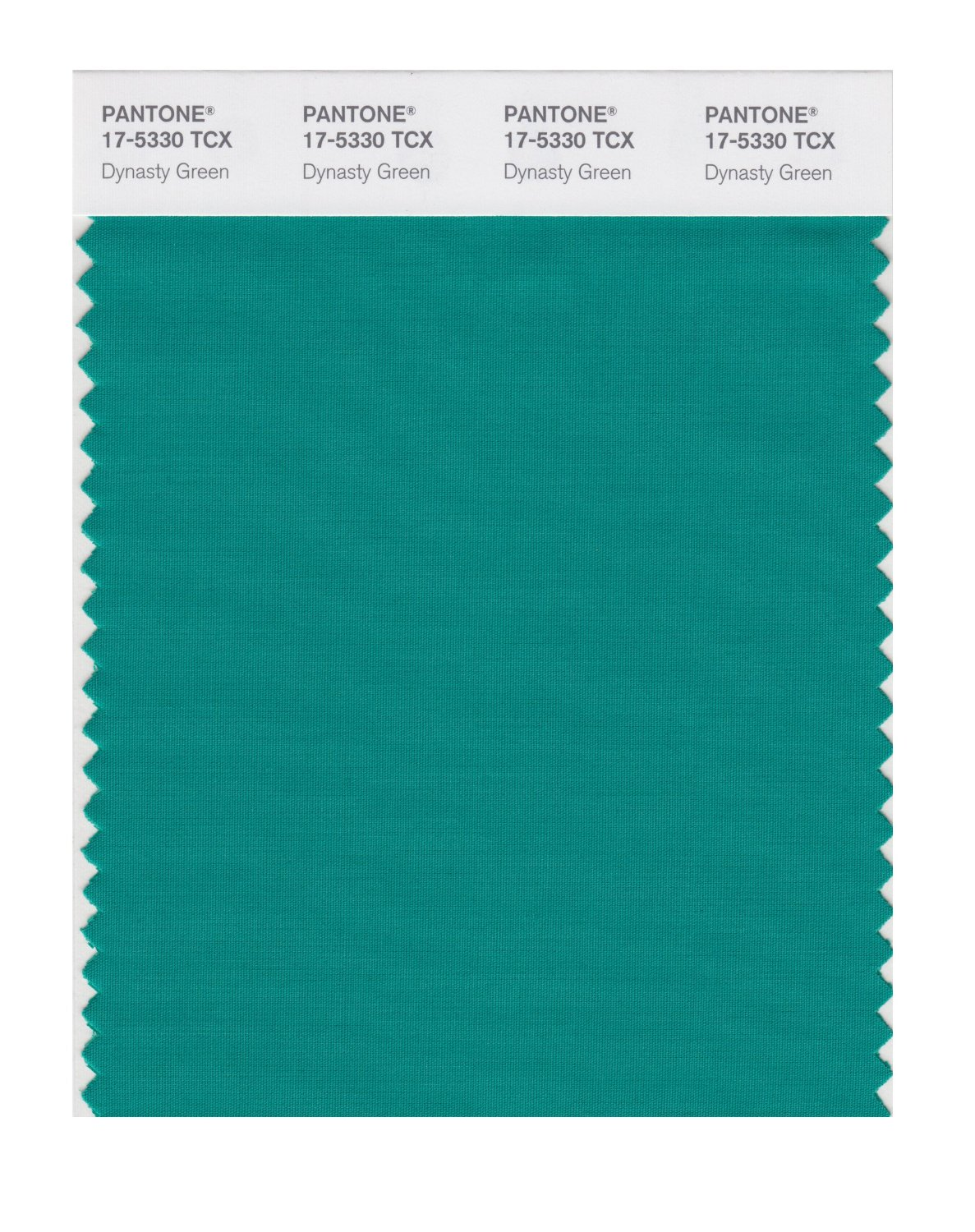 Pantone Smart Swatch 17-5330 Dynasty Green