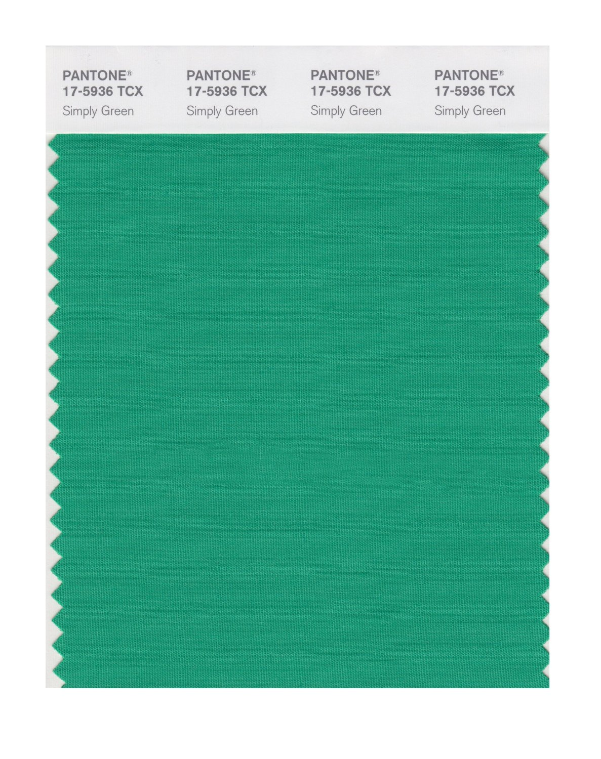 Pantone Smart Swatch 17-5936 Simply Green