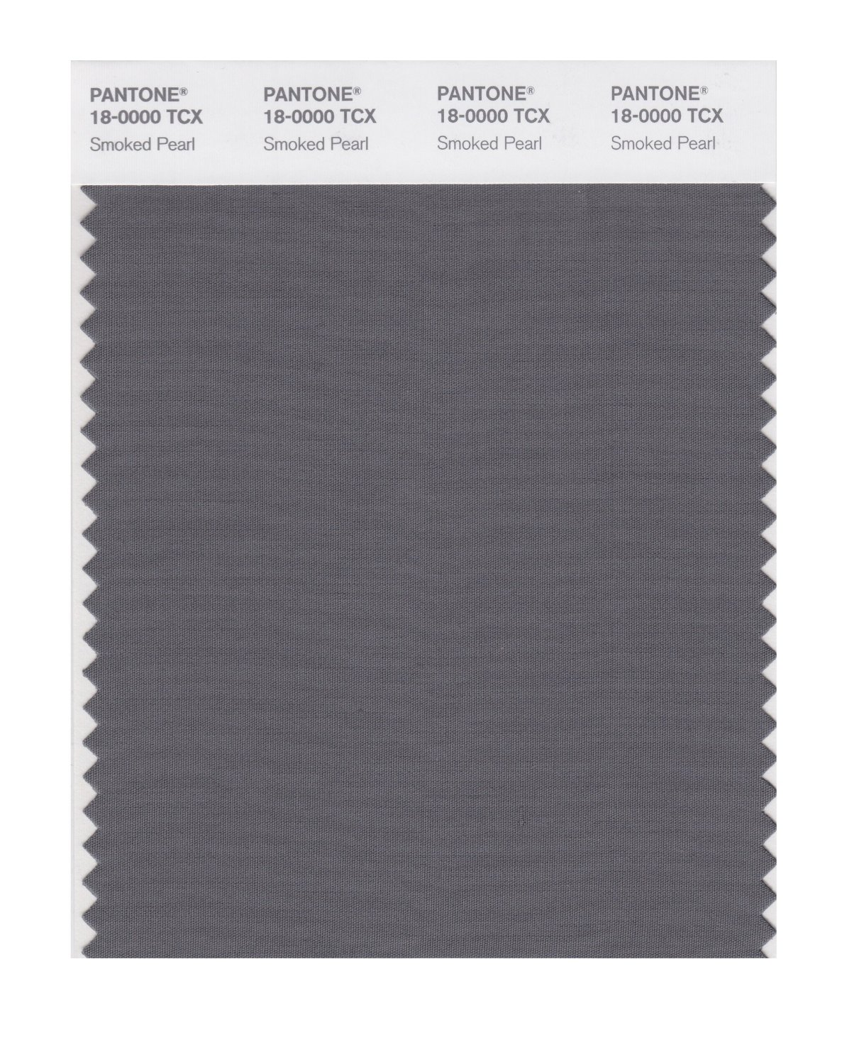 Pantone Smart Swatch 18-0000 Smoked Pearl