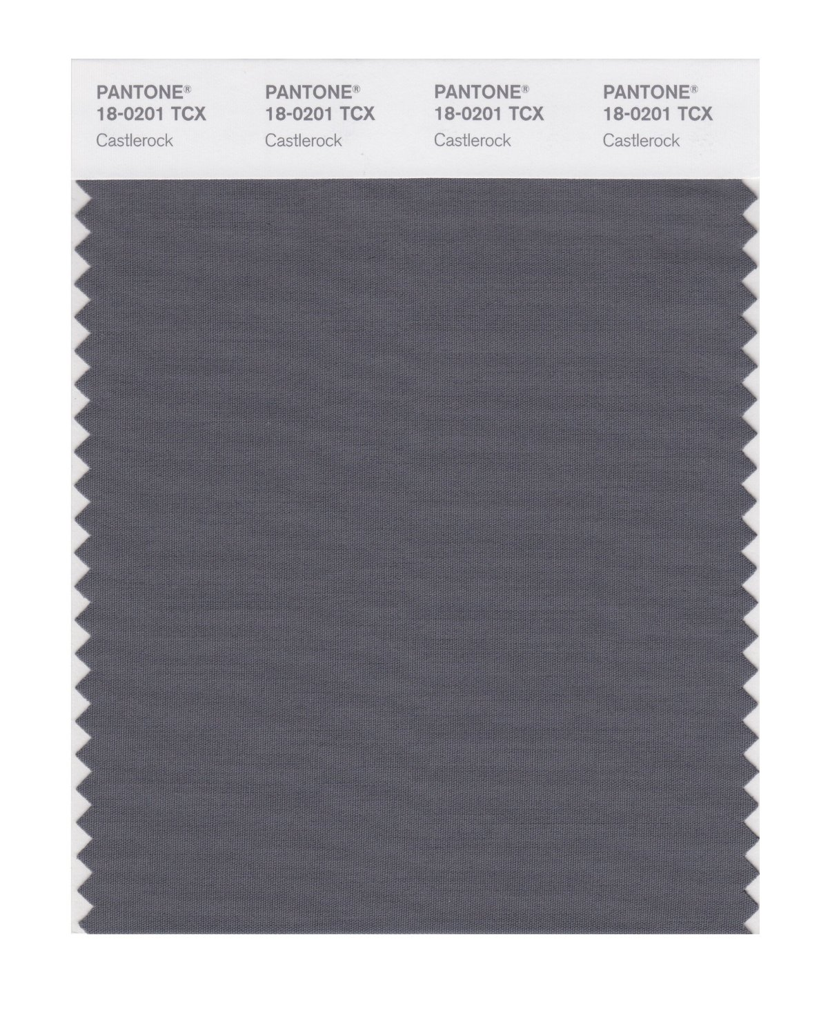 Pantone Smart Swatch 18-0201 Castlerock