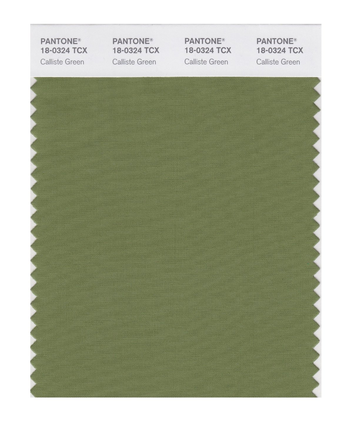 Pantone Smart Swatch 18-0324 Calliste Green