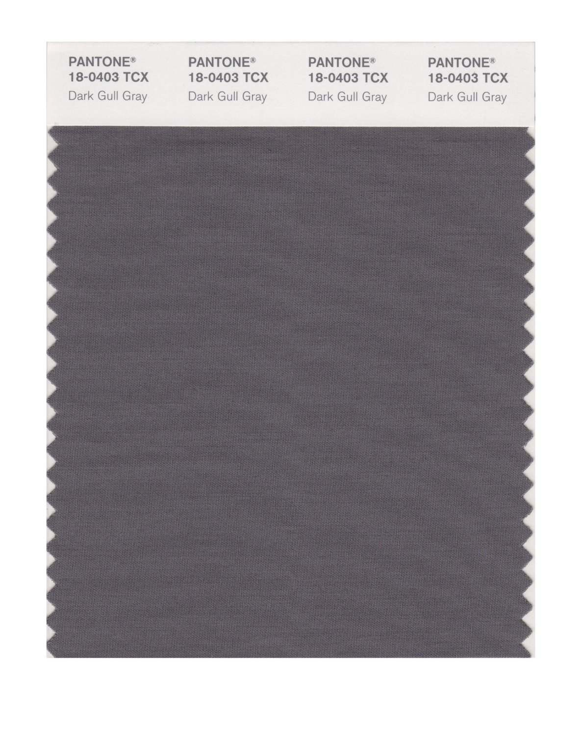 Pantone Smart Swatch 18-0403 Dark Gull Gray