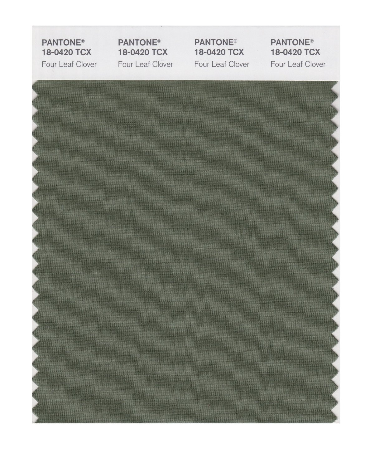 Pantone Smart Swatch 18-0420 Four Leaf Clover