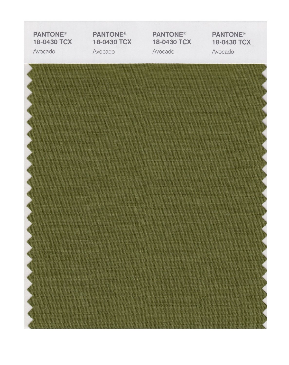 Pantone Smart Swatch 18-0430 Avocado
