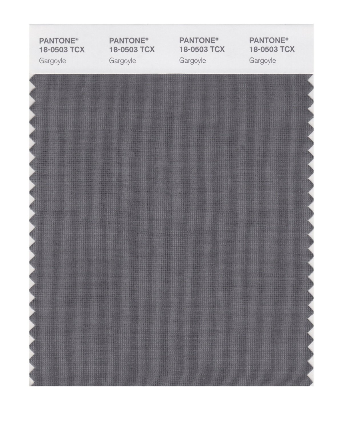 Pantone Smart Swatch 18-0503 Gargoyle