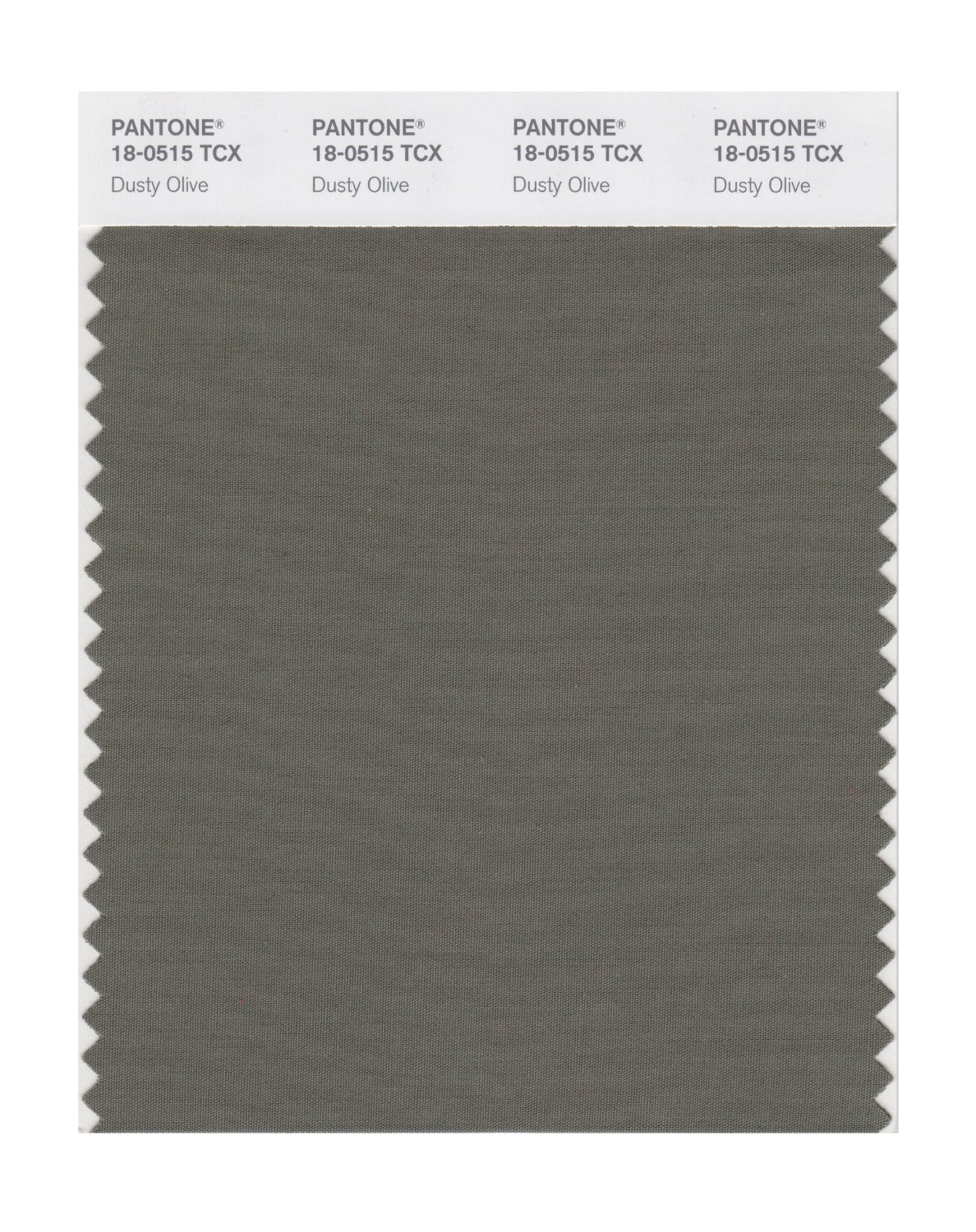 Pantone Smart Swatch 18-0515 Dusty Olive